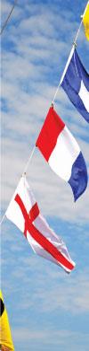 Nautical Flags Flying