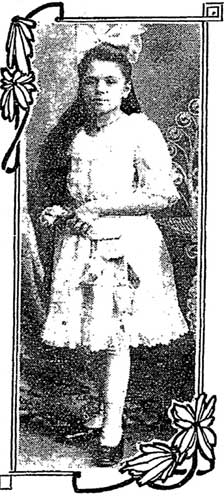 Elsie Jorss in 1912, when she was 12