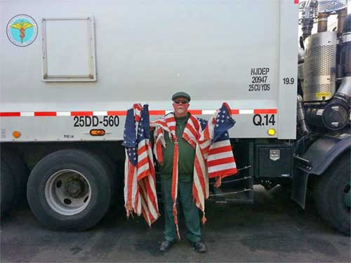 flagpole truck contents