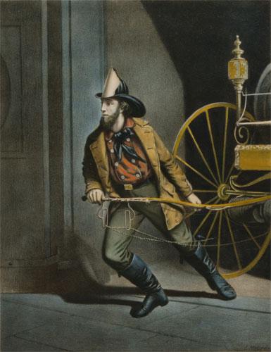 A fireman around the 1860s