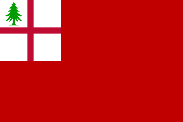 Bunker Hill Flag (red version)