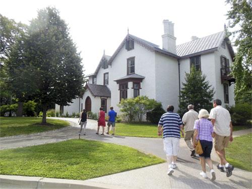 Visitors center Lincoln's Cottage. (James Breig photo)