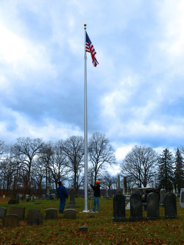 Flagpole Honors Uncle Sam S 150th Birthdaygettysburg Flag
