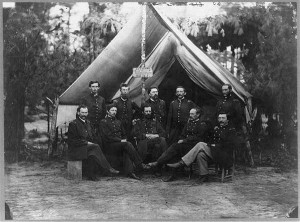 Army surgeons during the Civil War. (National Archives)