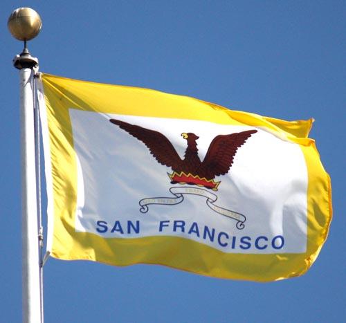San Francisco's city flag