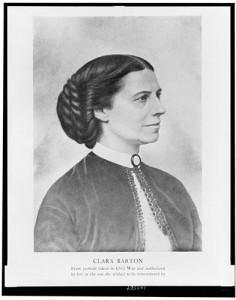 Clara Barton around 1865. (Library of Congress)