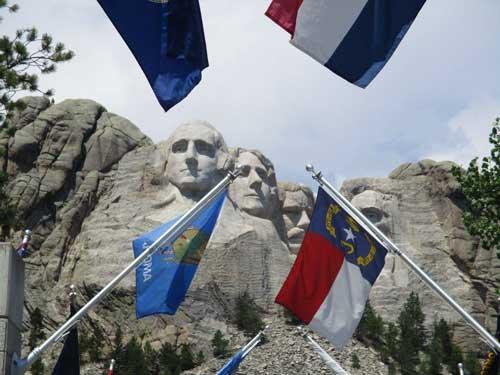 Rushmore flags