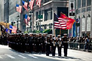 Veterans Day Parade, photo by MarineCorps NewYork