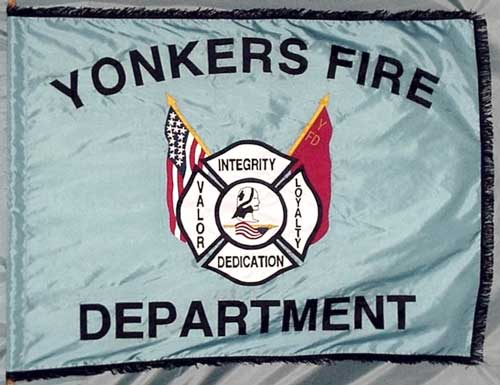 Yonkers Fire Dept. flag