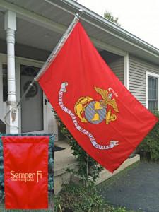 Marine Corps Flag & Garden Flag