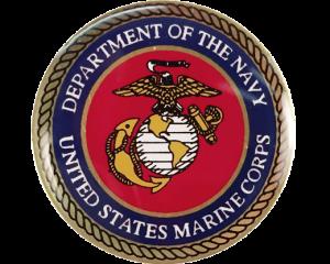 marine lapel pin