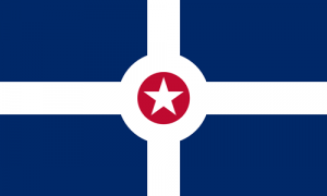Indianapolis city flag
