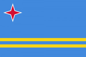 Aruba's flag was created by Whitney Smith. (wikipedia.org)