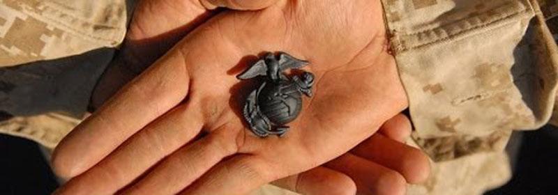 New Marine receives the Eagle, Globe, & Anchor