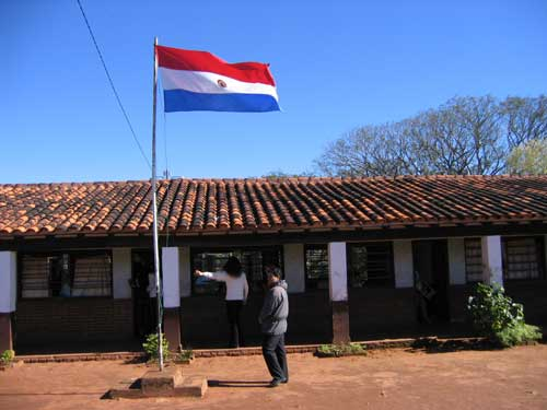 Paraguay's flag (wikipedia.org)