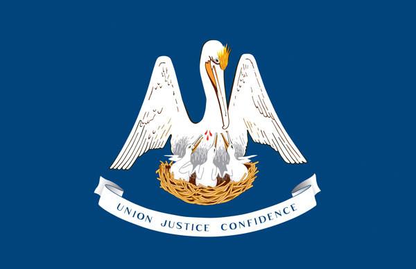 Louisiana's state flag (louisiana.gov)