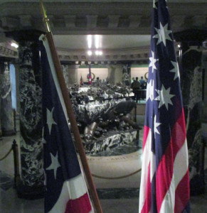 Flags guard John Paul Jones crypt