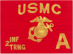 Example of a company guidon from the Marine Corps Flag Manual.