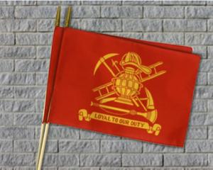 Fireman Stick Flag