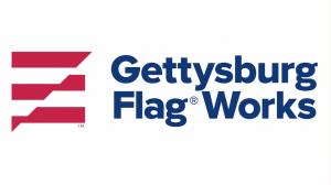 Gettysburg Flag Works logo on a white background
