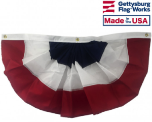 Patriotic Pleated Fans