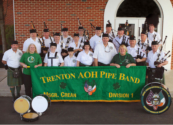 Irish Trenton AOH Pipeband