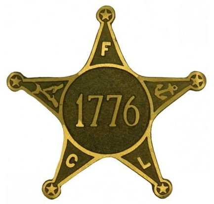 War of 1776 Grave Marker with FCL