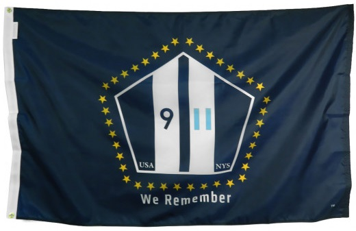 Official 9-11 Memorial Flag