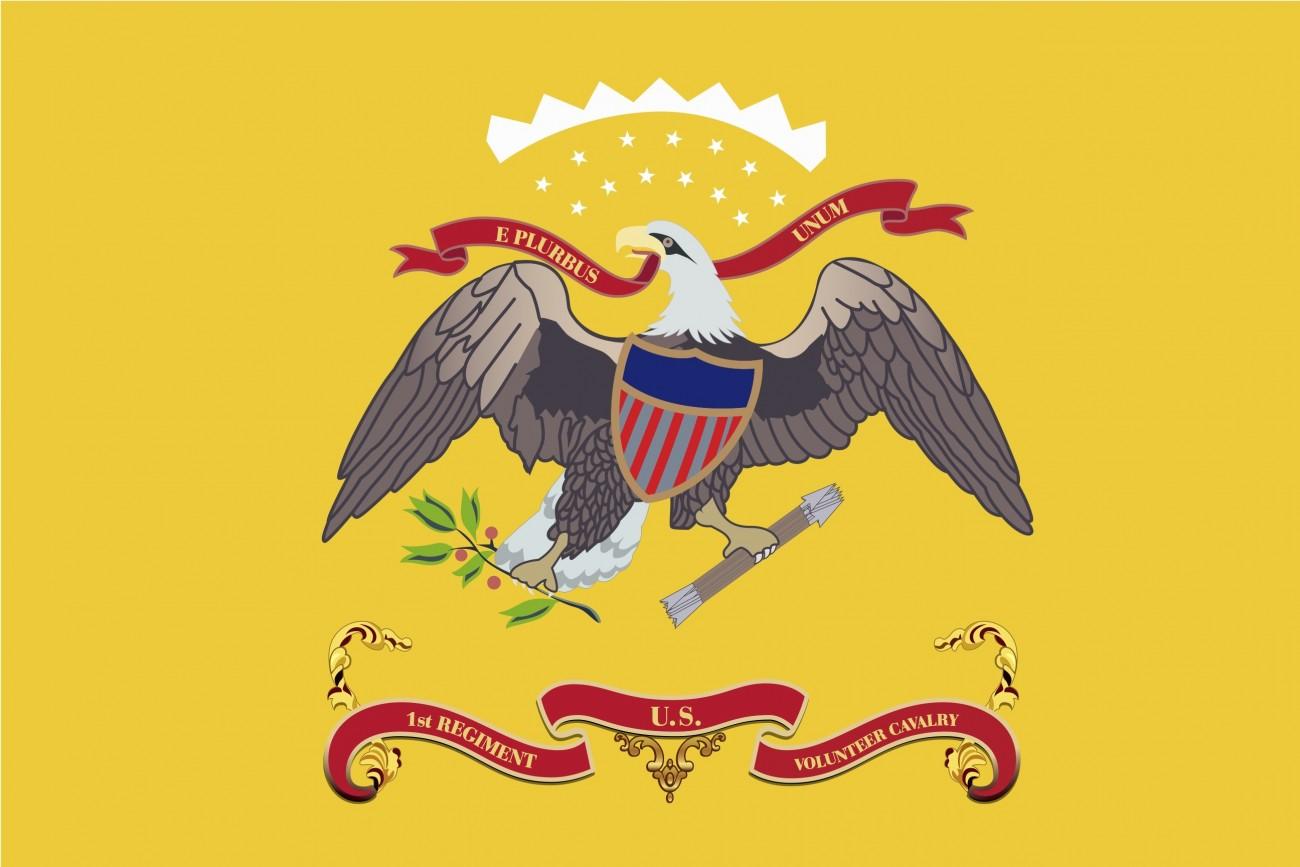 """Rough Riders"" Teddy Roosevelt Flag"