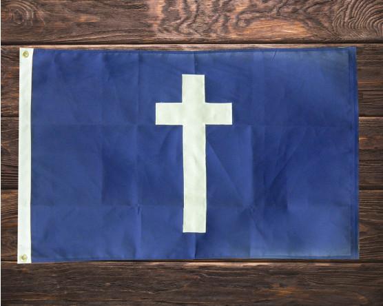 Chaplain's Cross Custom Flag