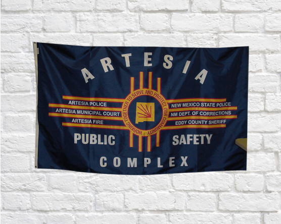 Artesia Public Safety Flag