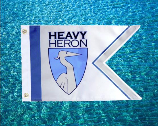 Heron Boat Guidon