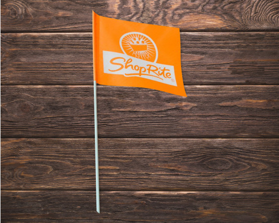 Custom ShopRite Bike flag
