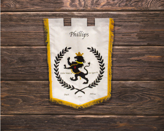 Heirloom Flags & Personalized Family Crest Banners