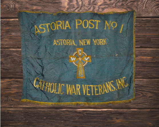 Astoria Post No. 1 Parade and Indoor Flag