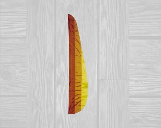 3 stripe feather flag