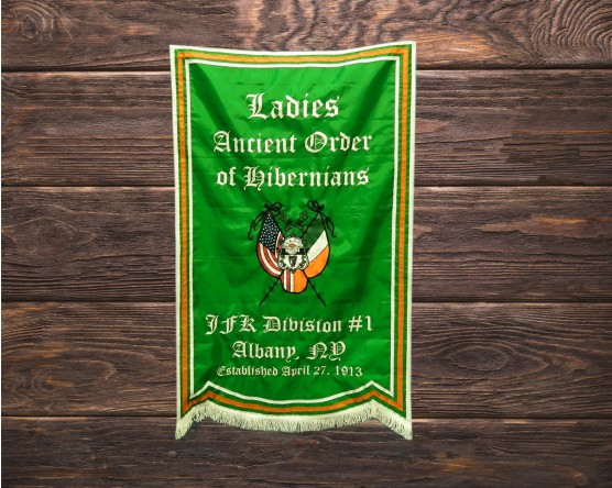 AOH Ladies Division 1 Custom Wall Banner