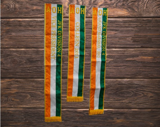 AOH custom sashes