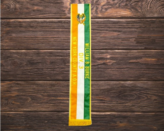 AOH custom sash with patch