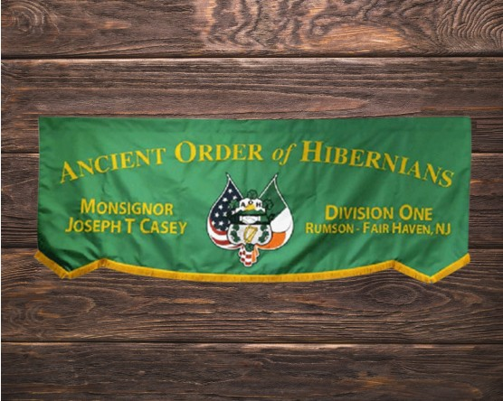 AOH Division 1 Marching Banner