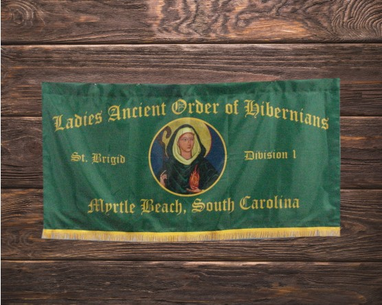 AOH Ladies Marching Banner