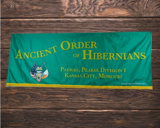 AOH Kansas City Marching Banner