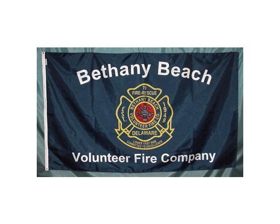 Bethany Beach Volunteer Fire Company Flag