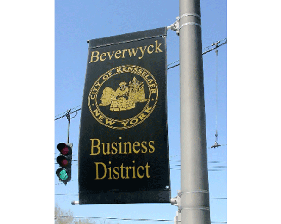 Business District Avenue Banner