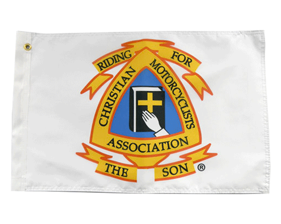 Christian Motorcyclists Association Flag