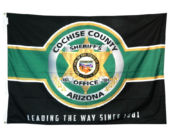 Cochise County Sheriff's Office Flag