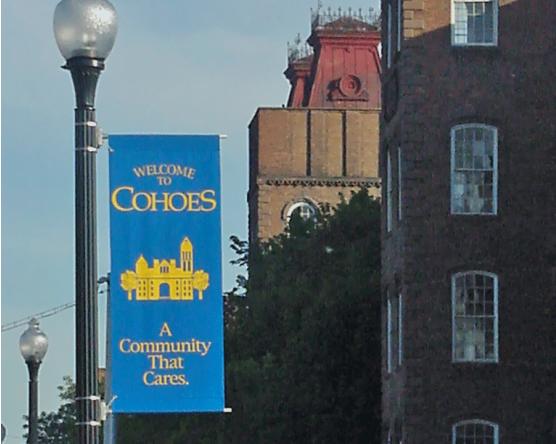 Cohoes Avenue Banner
