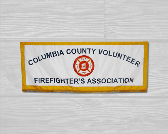 Volunteer Firefighter's Association Parade Banner