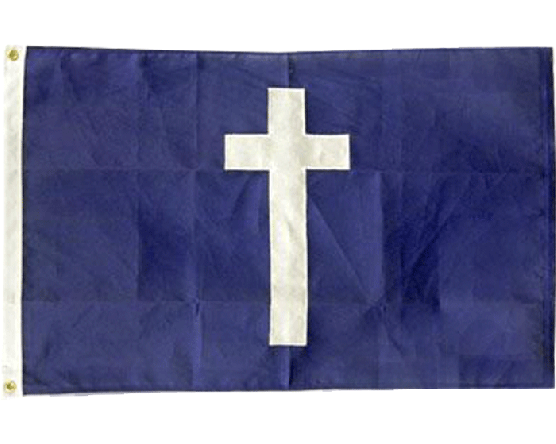 Cotton Replica of Chaplain Flag