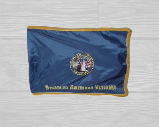 custom disabled veterans flag